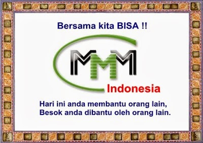 penipuan MMM Indonesia sistem kerja MMM Indonesia