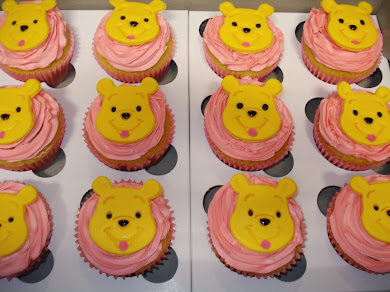 Winnie the Pooh 2d Cupcakes
