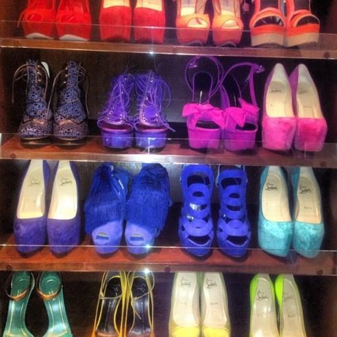 Kardashian Closet on Love Fall Fashion   Beauty  Kim Kardashian S Shoe Closet