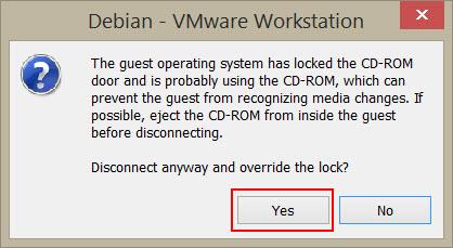 CD-ROM lock