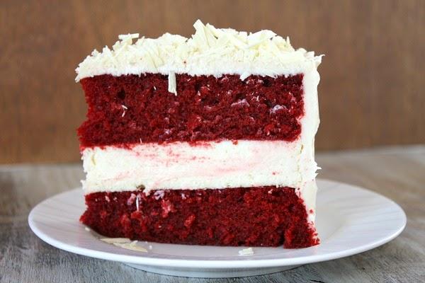 resepi kek red velvet cheese