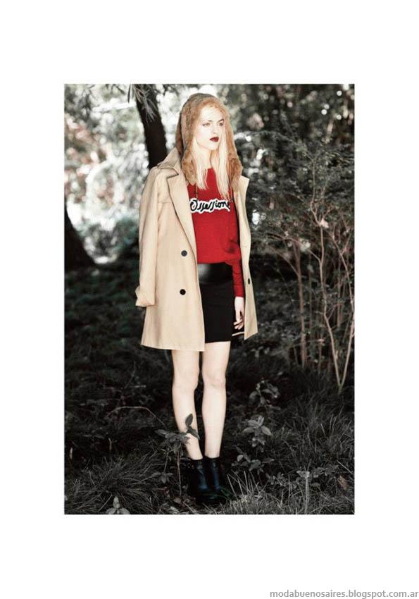 AY Not Dead tapados invierno 2013 Moda