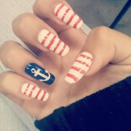 toe nail nautical polish designs rachael edwards