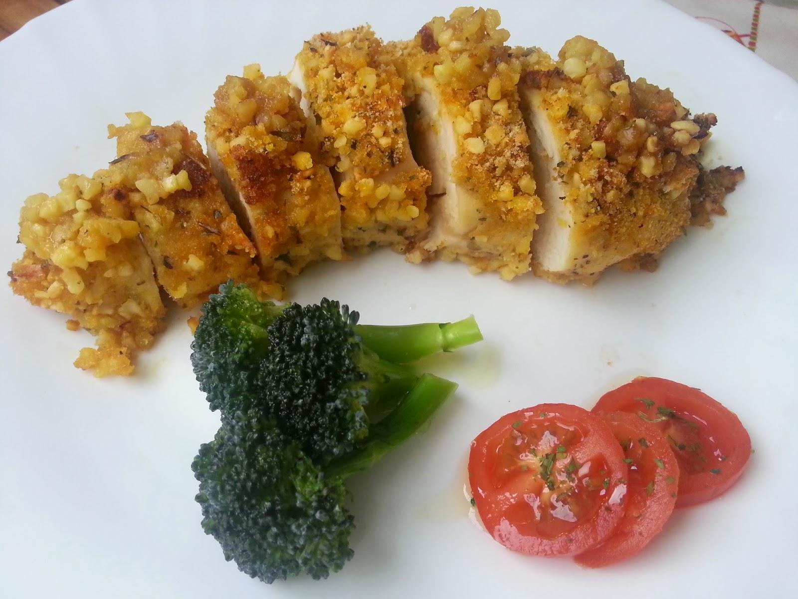 De cabeza en la cocina pechuga de pollo a la miel y - Platos con pechuga de pollo ...