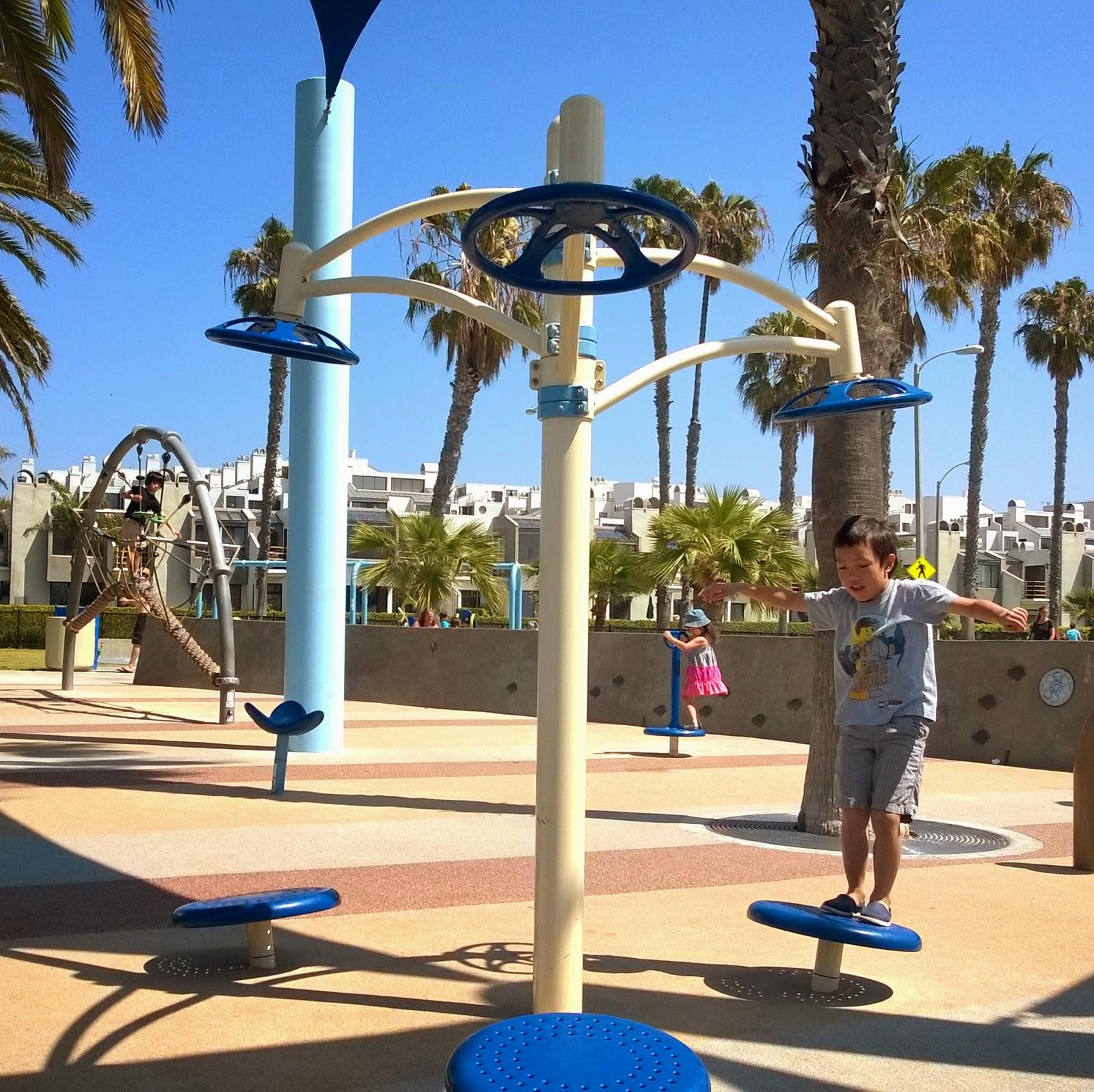 Santa Monica beach park