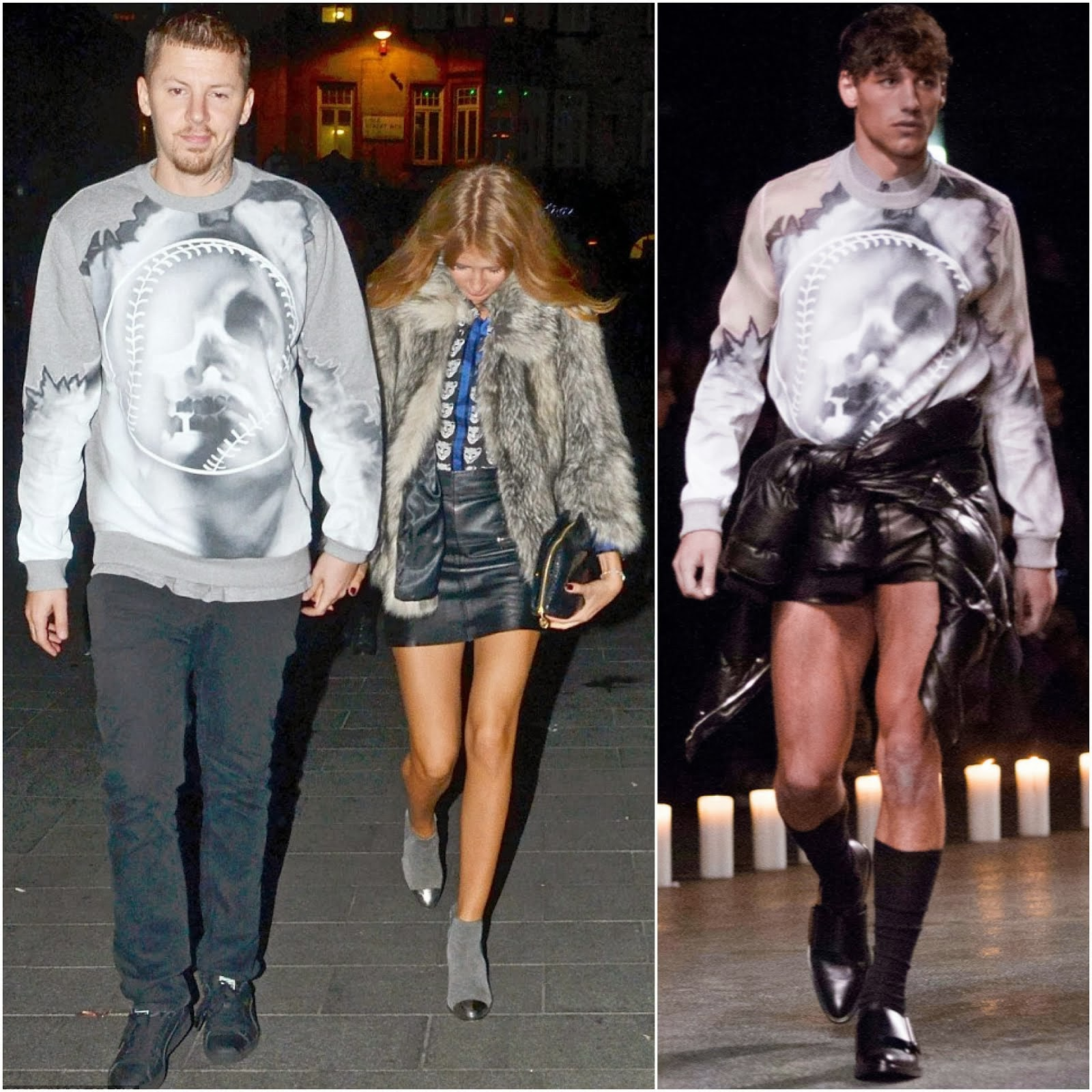 00O00 Menswear Blog: Professor Green in Givenchy - INK, London October 2013