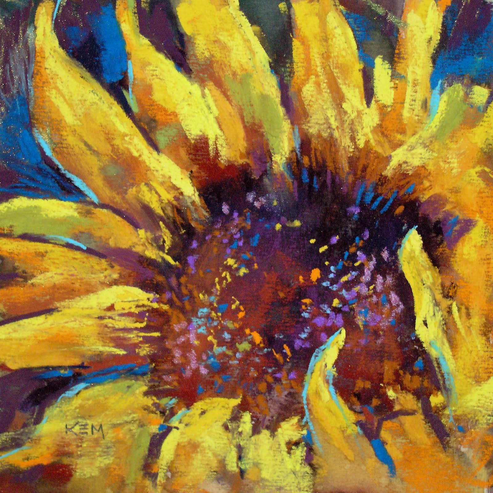 A Sunflower A Day: Sunflower Painting #1 sold