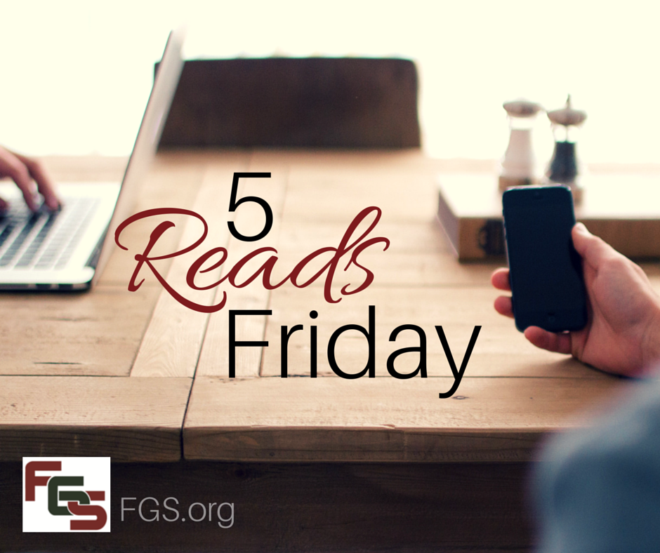 5 Reads Friday: Skeletons, German research resources, & more! via FGS.org
