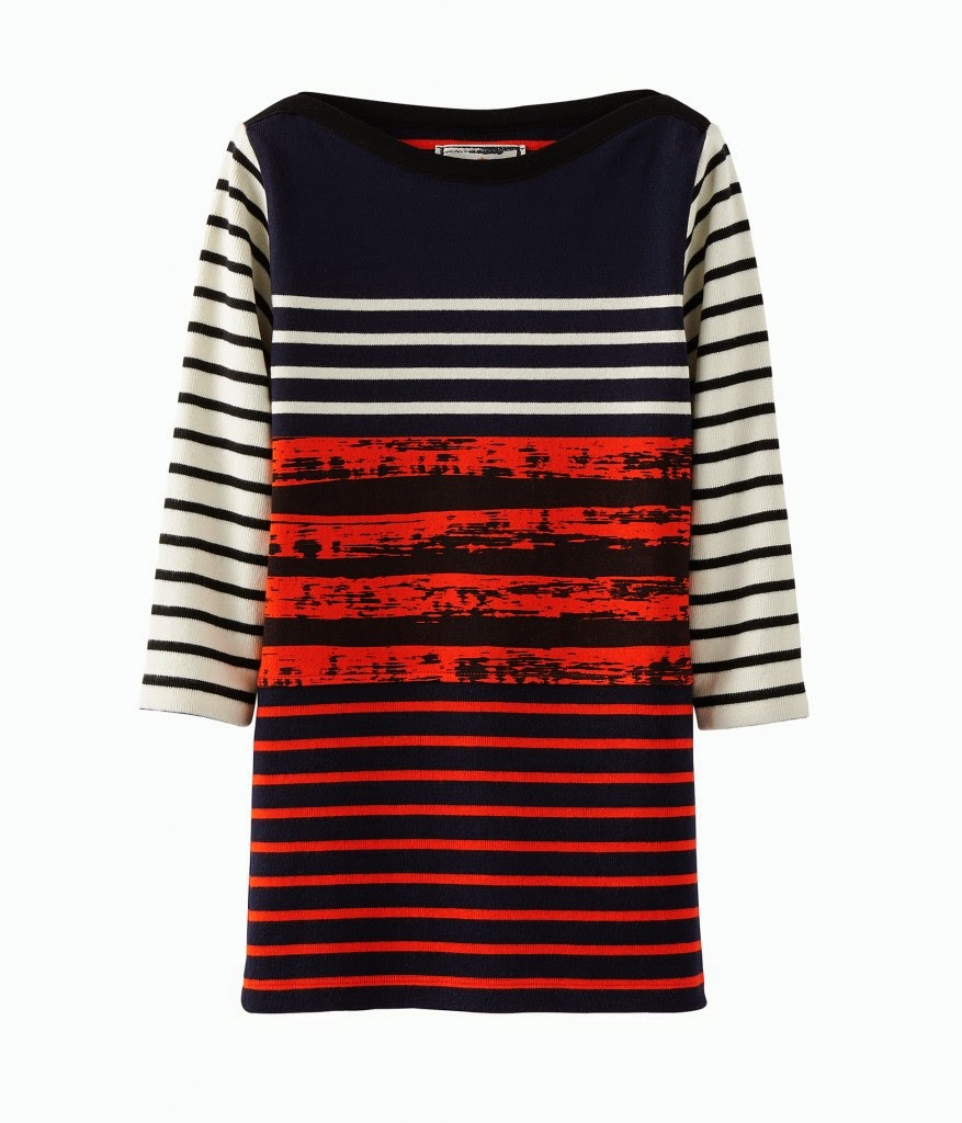 Petit Bateau x Cedric Charlier breton stripe dress