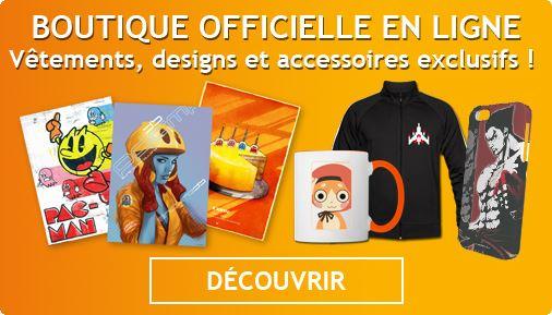 Découvrir la boutique officielle BANDAI NAMCO Entertainment Europe