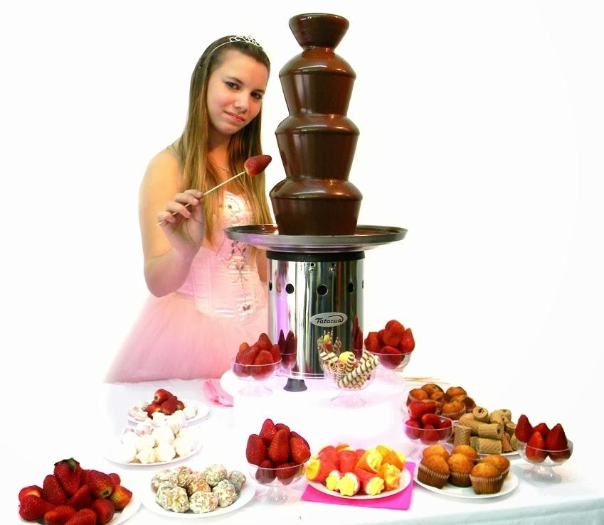 Cascada de chocolate o Queso en Salones de Fiestas y Catering