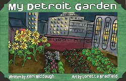 My Detroit Garden picture book