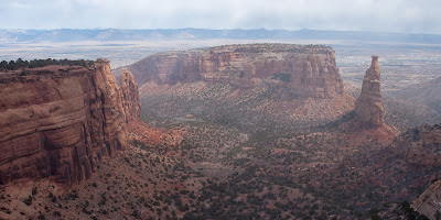 Colorado National Monument - Independence Monument View