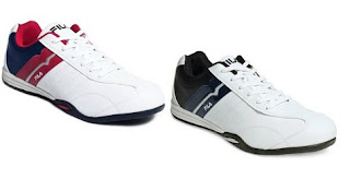 Myntra Amazing Offer: Get Fila Men's White Maggota Shoes worth Rs.2299  for Rs.1104 Only