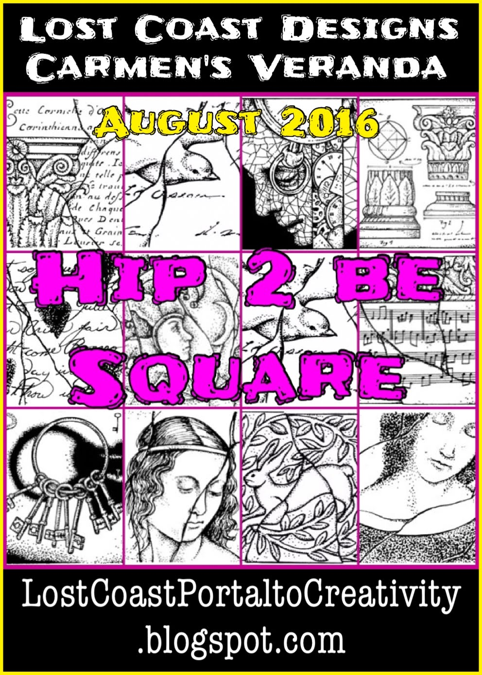 Are you HIP 2 BE SQUARE?  Aug 18 - Sept 4!