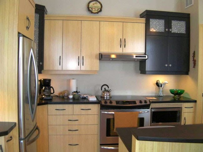 Cat dapur rumah minimalis 5