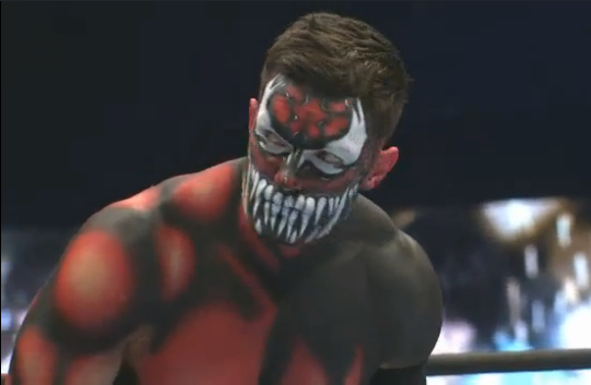 Prince Devitt NJPW Carnage Body Paint New Japan Pro Wrestling Fergal WWE rumors