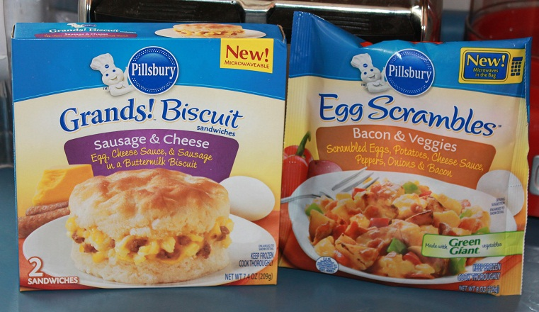 Dragonflies: Pillsbury Egg Scrambles and Grands! Biscuit Sandwiches ...