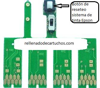изображение Кнопка обнуления СНПЧ в принтере Epson