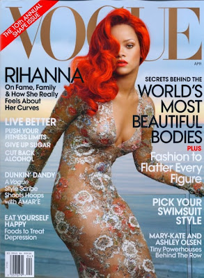 Rihanna Vogue Cover Photoshoot