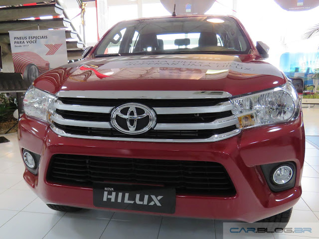 Nova Toyota Hilux 2016 SRV A/T