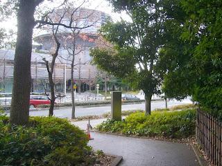 大阪府大阪市中央区城見・OBP(大阪ビジネスパーク)ウォーキング