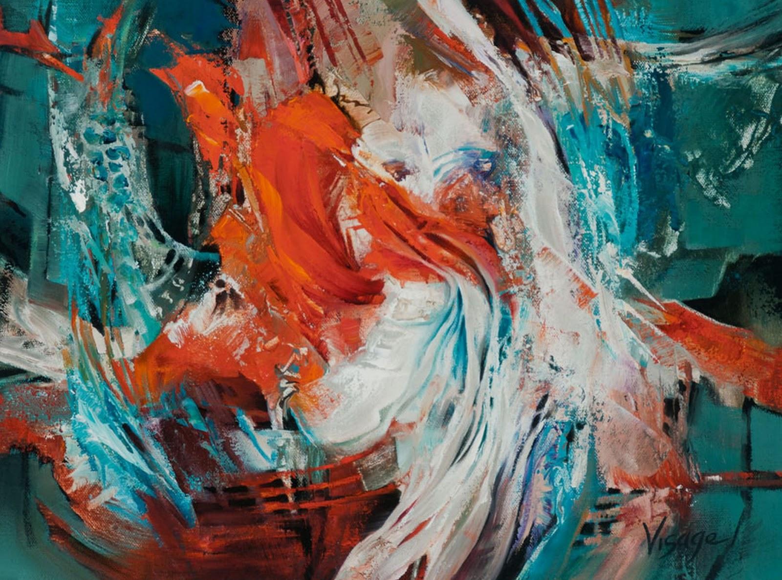 Pintura moderna y fotograf a art stica cuadros for Cuadros coloridos modernos