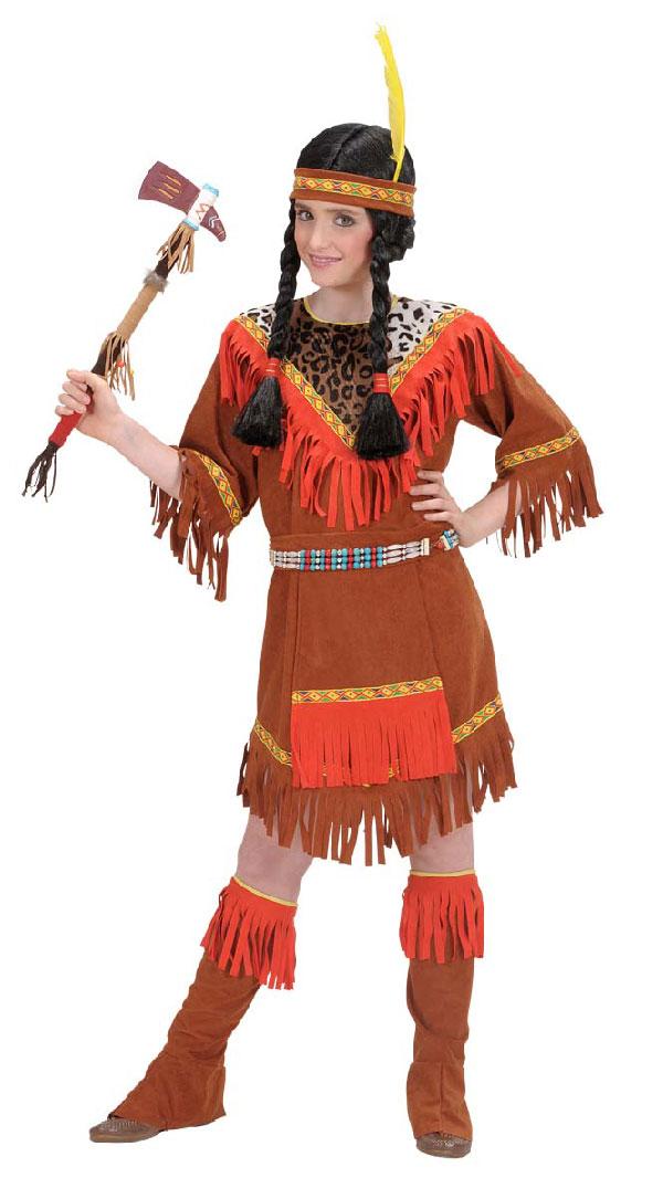 Fastelavn indianer