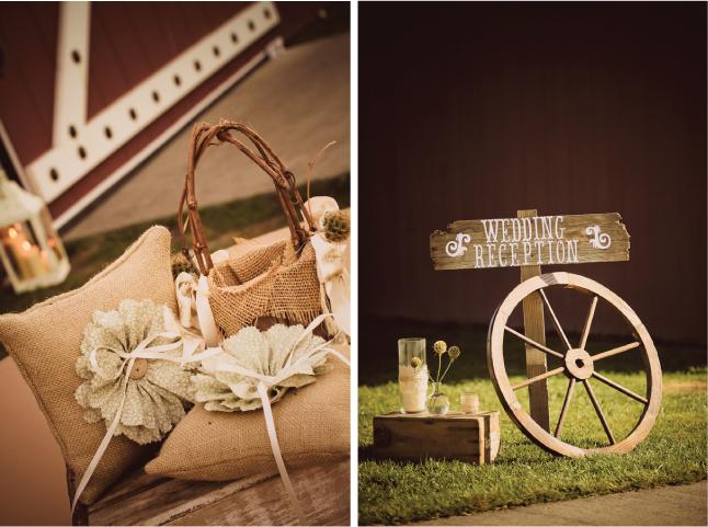 RusticChic Barn Wedding