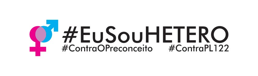 #EuSouHetero