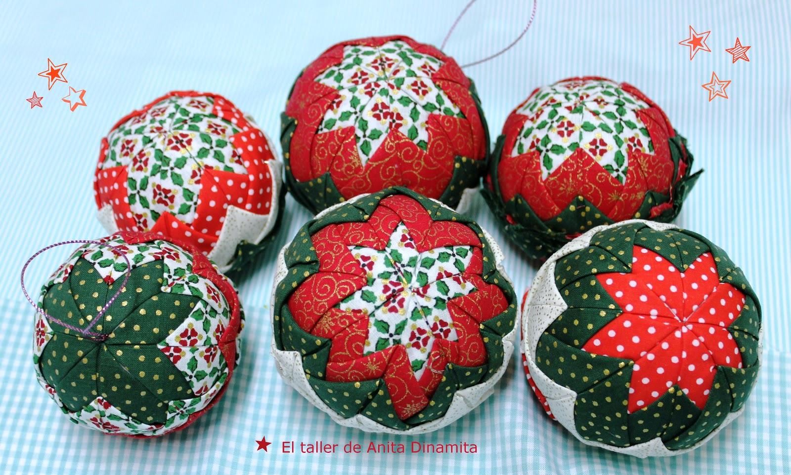 El taller de anitadinamita bolitas de navidad - Bolas de navidad grandes ...