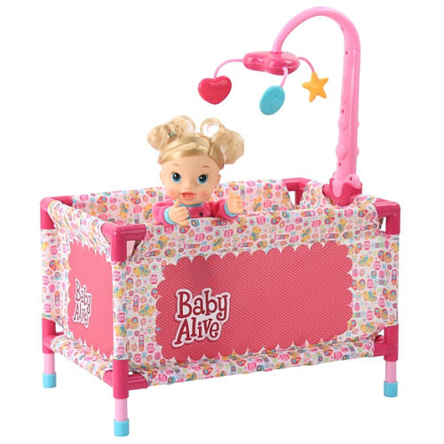 The Baby Alive Play Yard Is One Of Items That Warms My Heart Like Travel System It Life As Well Comes With A Mobile Has