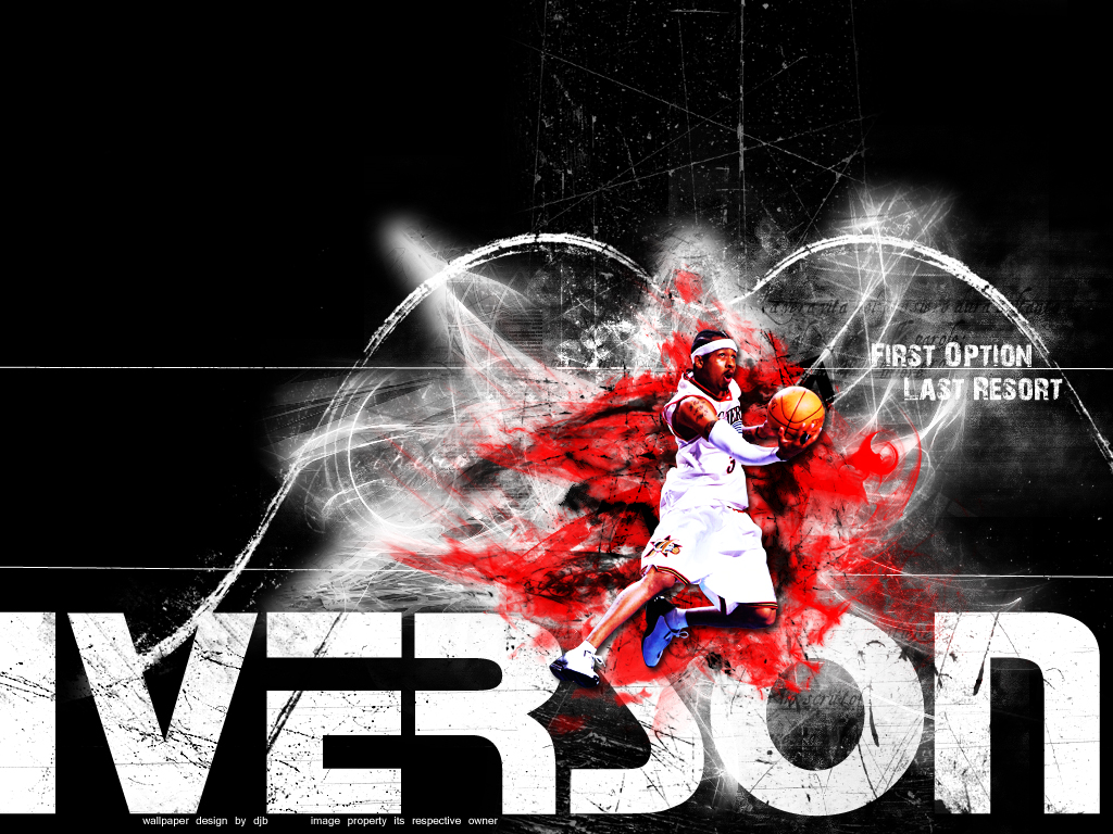 Allen Iverson Is One Of My Oldest Favorites NBA Players Because He Could Do Something That Some People Cant The Crossover Almost Hole Nba