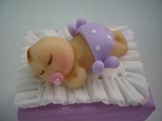 Lembrancinhas de Bebê - Maternidade, biscuit