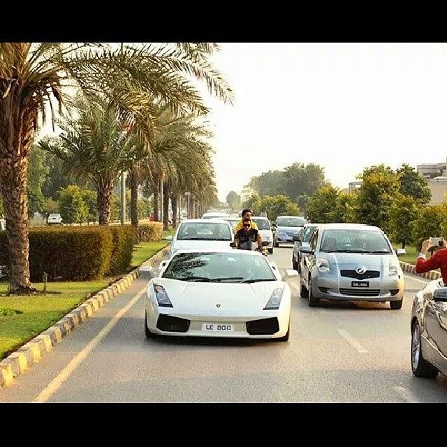 Lamborghini of Sardar ayaz sadiq
