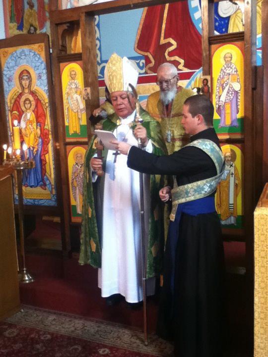 Visita de Mons. Victor Sánchez Metropolita de Puebla de Los Ángeles