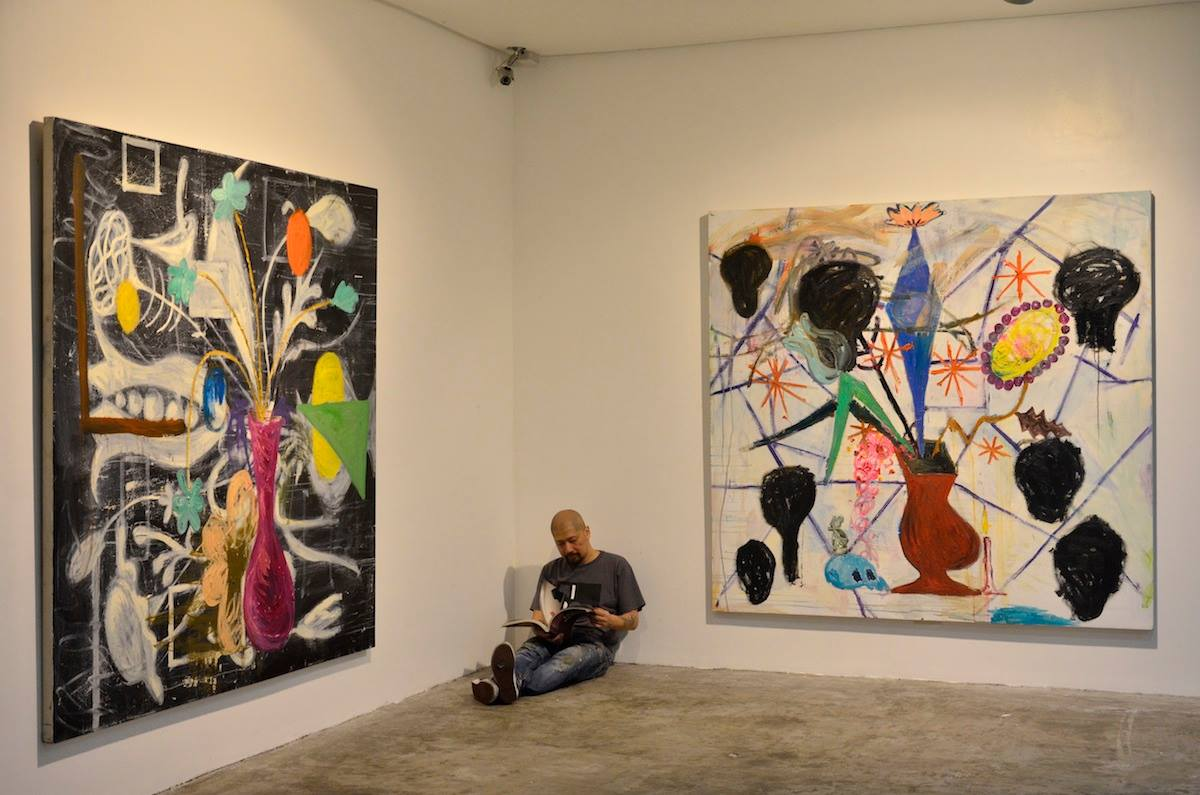 Manuel Ocampo at MO_Space