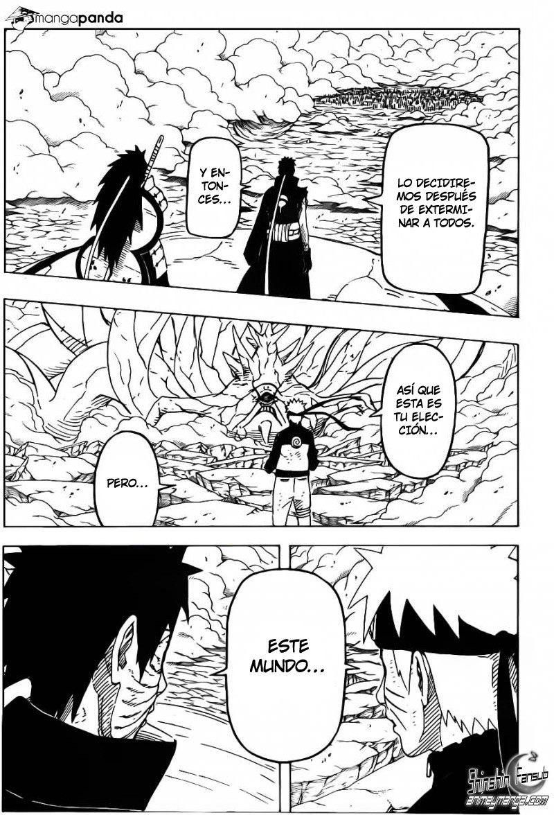 Naruto Shippuden Manga 612