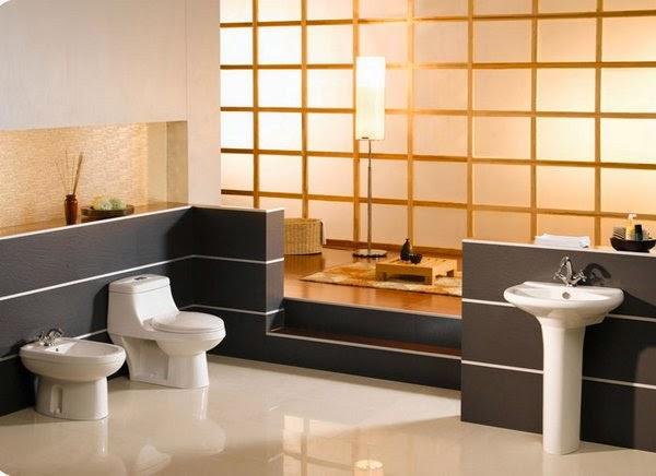 Cuarto De Baño Feng Shui:Marzua: Cuartos de baño de estilo oriental