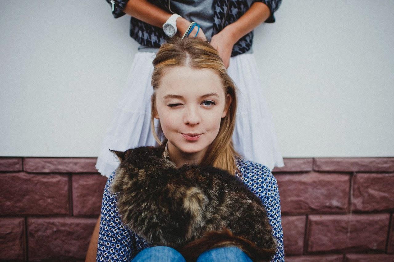 Ольга Башкатова: Алена, Катя и Алина.