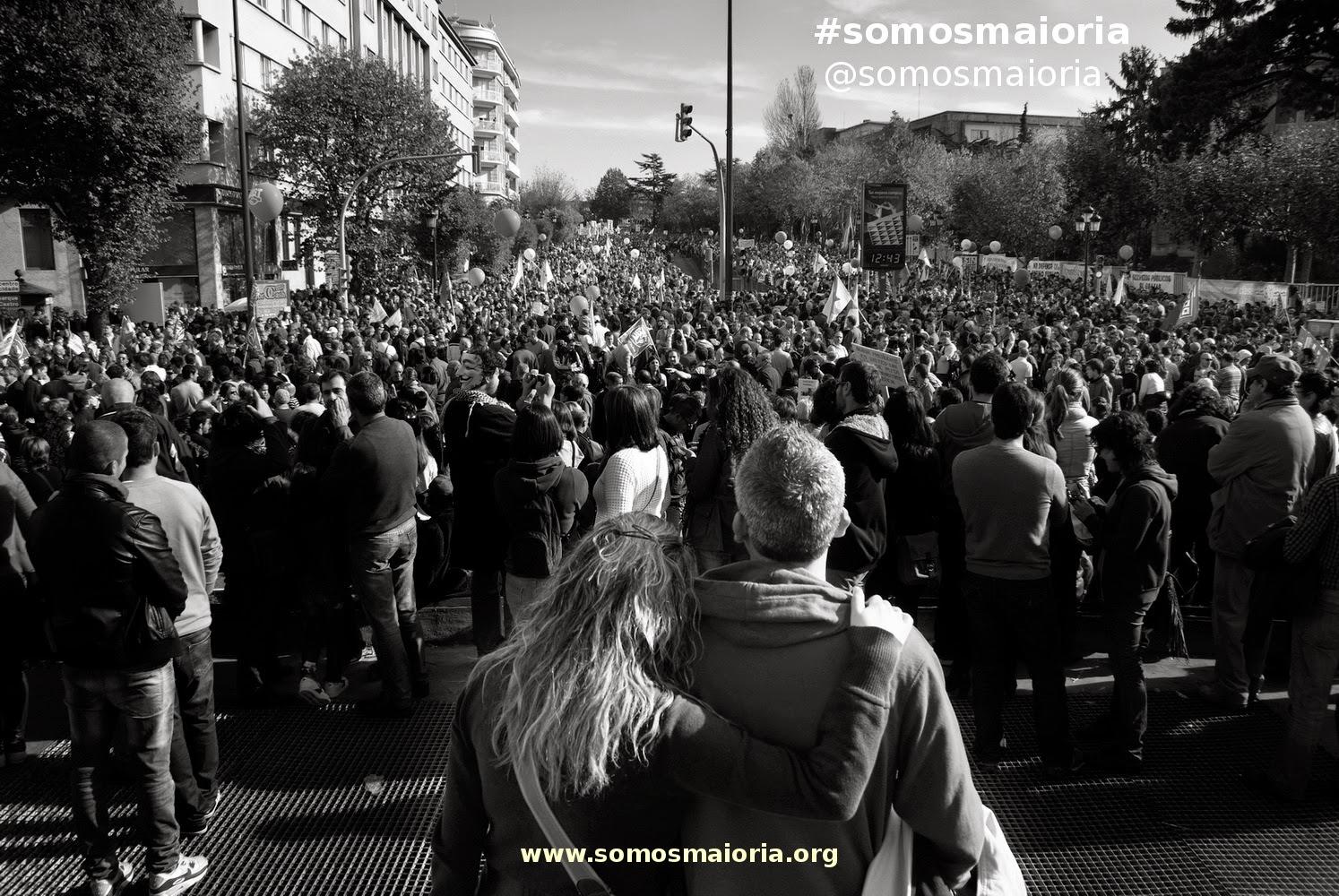 #somosmaioria