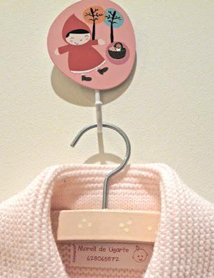 Etiqueta de Bien-pegado para ropa