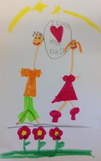 dessin 2 carte fête des pères