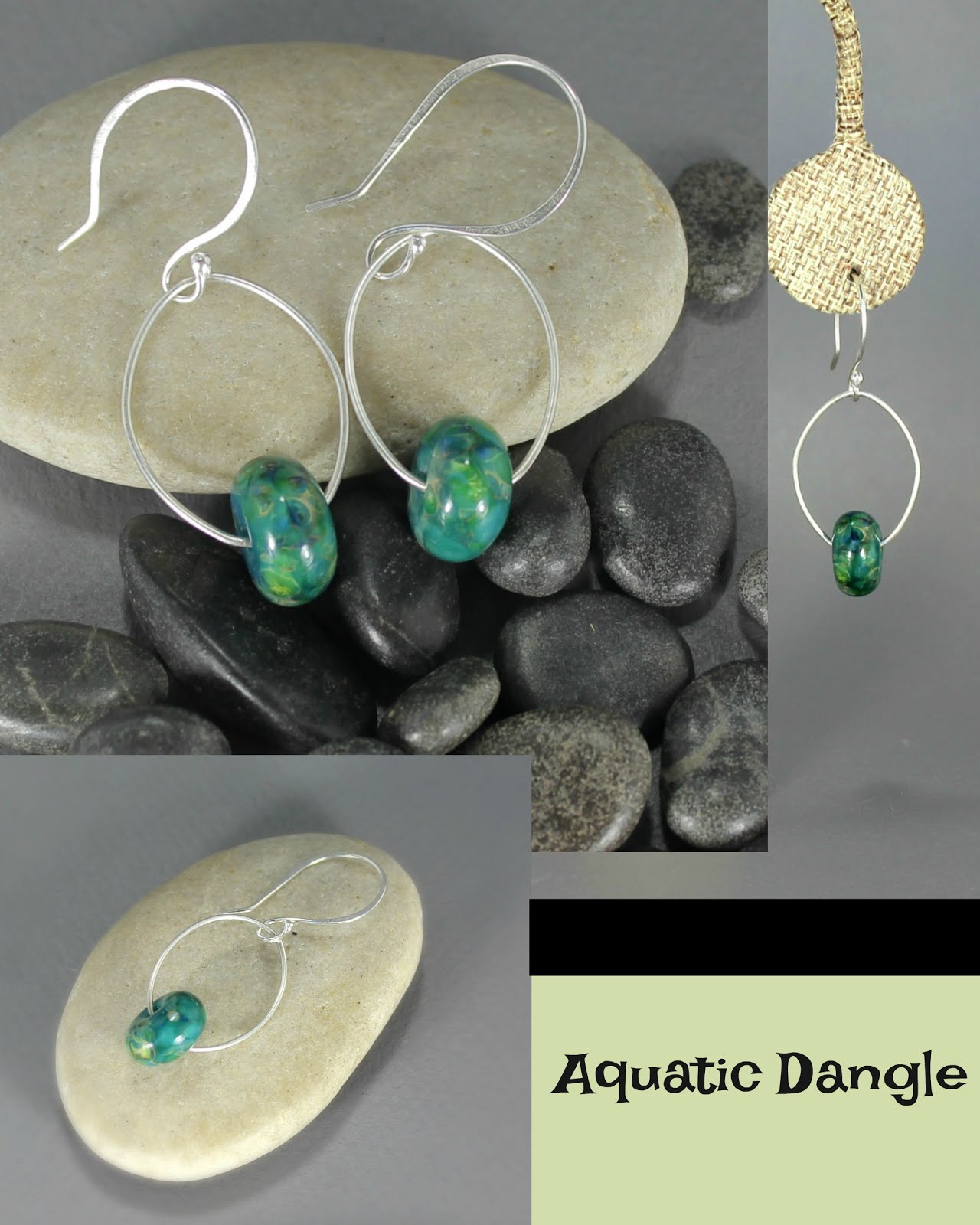 Aquatic Dangle Earrings