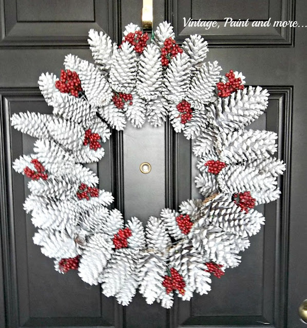diy pine cone wreath