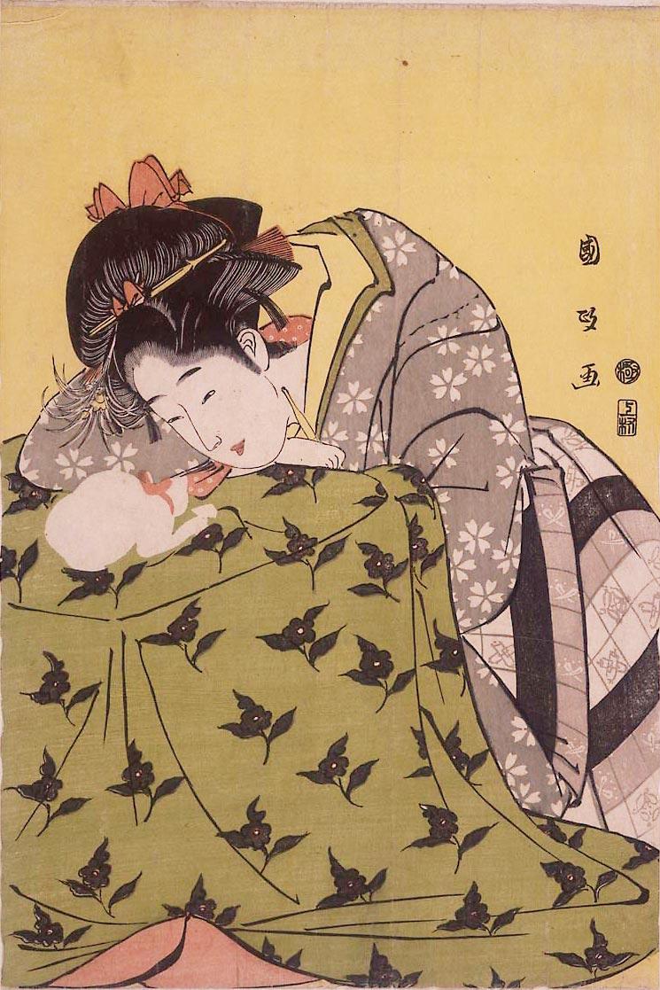 Сюнга японская эротическая графика