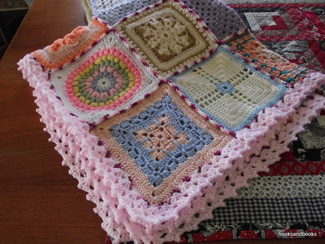 Knitting Blankets For Charity : Hooks and books knit for charity blankets the chef