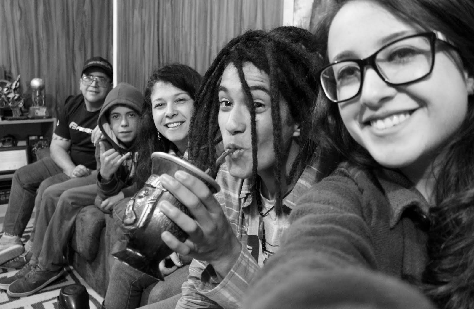Surfistas da Paz no Estúdio Cia A3, Osório/RS