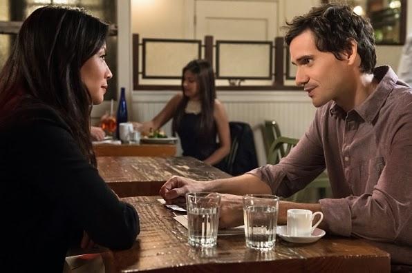 Chris Santos Joan Watson past boyfriend in Elementary Season 3 Episode 7 The Adventure of the Nutmeg Concoction