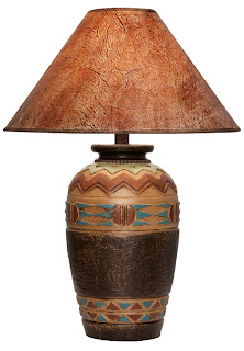 Southwest Table Lamp AH6071-LWC